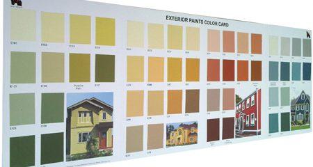 Boya Renk Kartelası Basımı