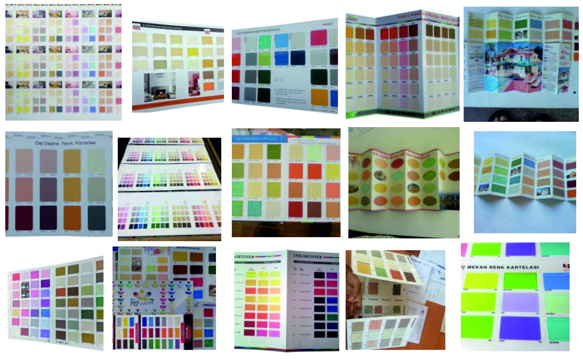 Renk Uyumu Bu Renk Kartelası İle Oldukça Basit