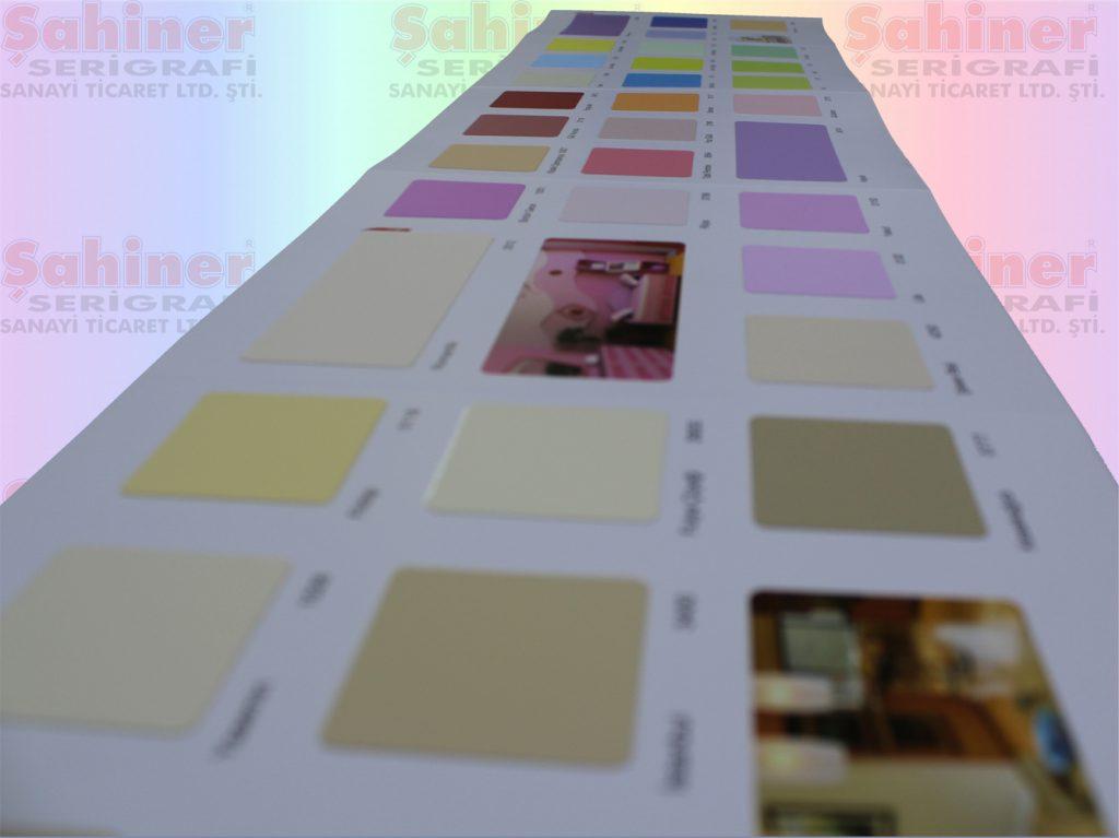 çipli yöntem iç cephe boya renk kartelası